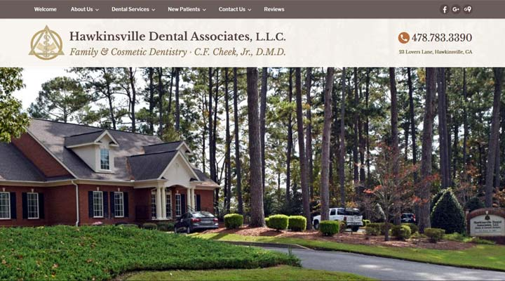 hawkinsville georgia dental