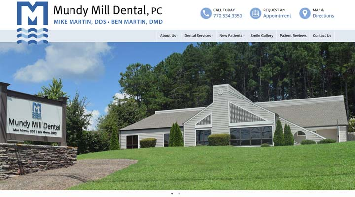 mundy mill dental, oakwood georgia